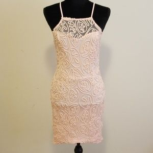 Embroidered detailed dress
